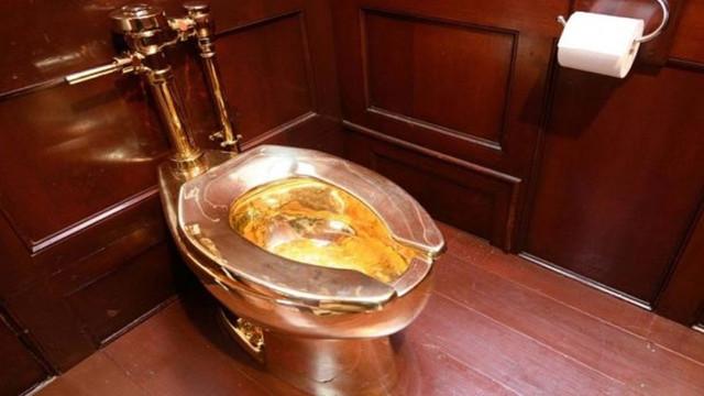 İngiltere'de saraydan altın klozet çalındı!