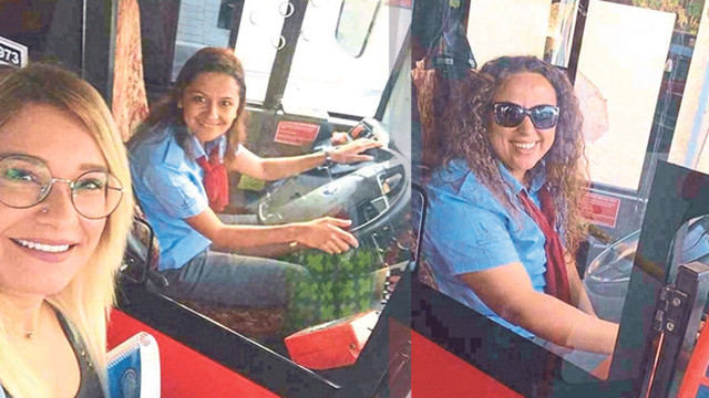 İzmir'in güler yüzlü otobüs şoförleri