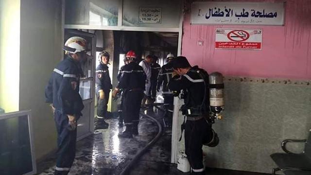 Cezayir'de hastane yangınında 8 bebek öldü