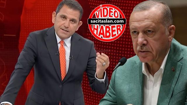Fatih Portakal'dan Cumhurbaşkanı Erdoğan'a 'yalan haber' yanıtı