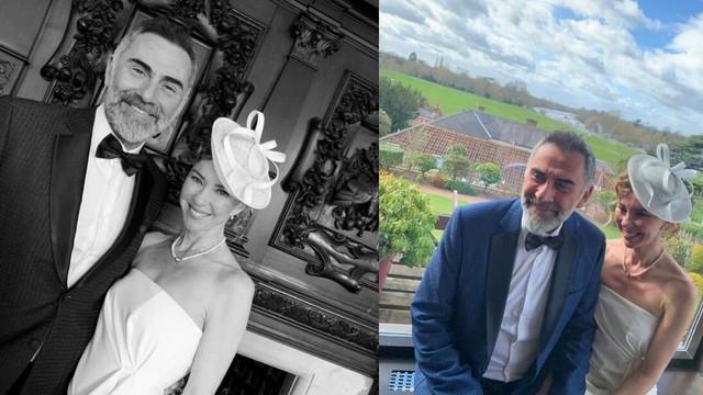 İnci Türkay ve Atilla Saral İngiltere'de evlendi