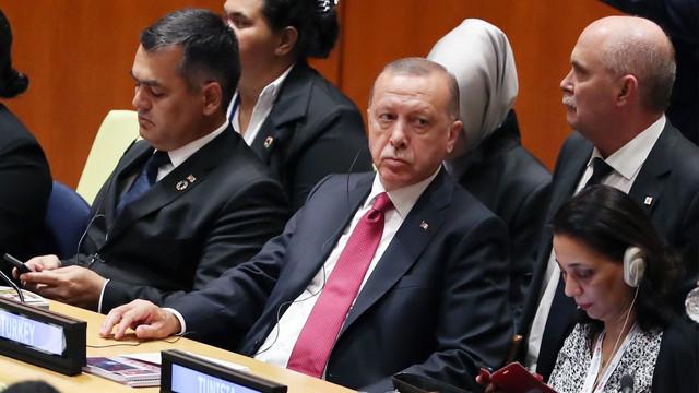 Cumhurbaşkanı Erdoğan, Kalkınma amaçları zirvesine katıldı