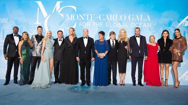 Yardımsever ünlüler Monte Carlo'da buluştu