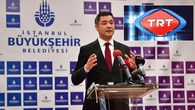 İBB ile TRT arasında 'paralı üst geçit' polemiği!