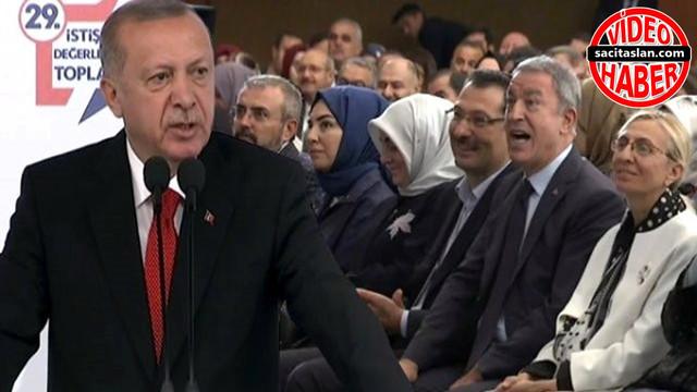 """""""Refah Partisi"""" diyen Cumhurbaşkanı Erdoğan'a, Akar'dan düzeltme"""