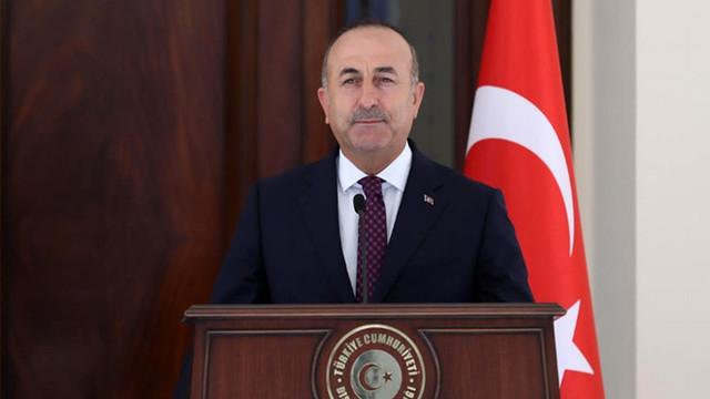 """Bakan Çavuşoğlu: """"Terör örgütüyle mücadele etmek meşru hakkımızdır"""""""