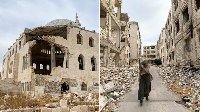 Gamze Özçelik Halep'ten paylaştı