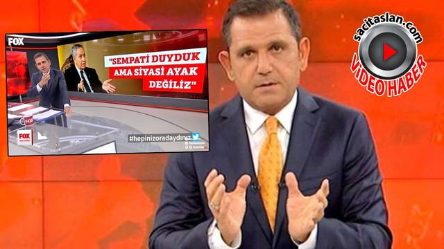 """Fatih Portakal: """"Hepiniz Oradaydınız!"""""""