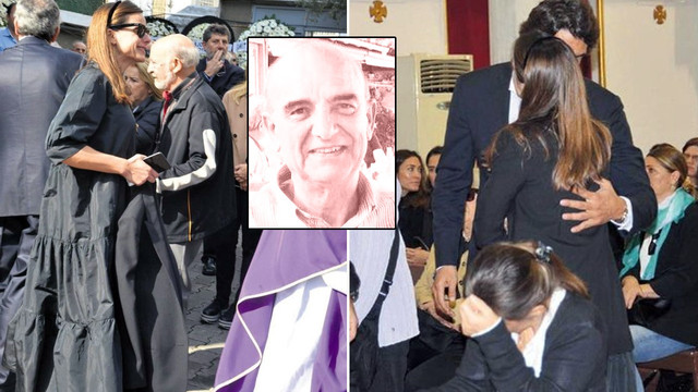 Edvina Sponza'nın babası defnedildi