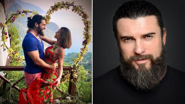 Cengiz Coşkun'un aşk pozu sosyal medyayı salladı