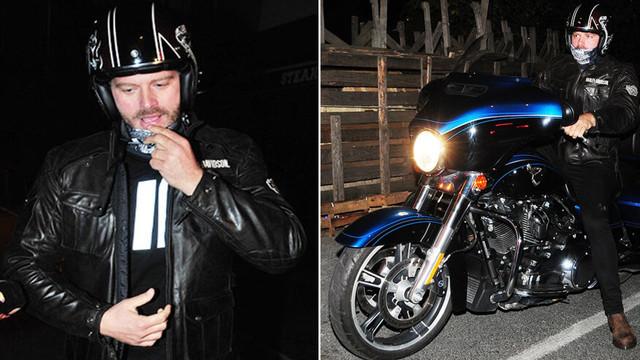 Kıvanç Tatlıtuğ motosiklet tutkusundan vazgeçmiyor