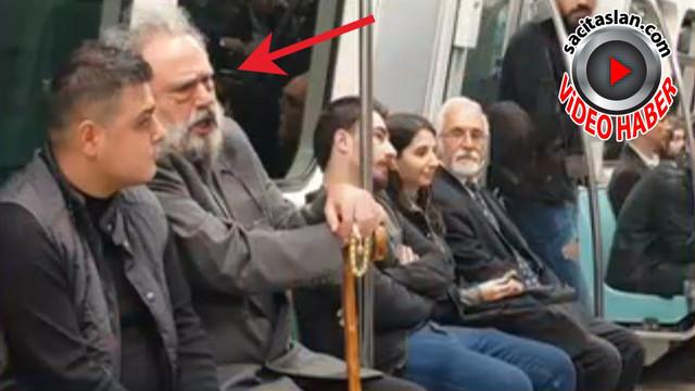 Kılık değiştirip metroya binen şarkıcı kim?