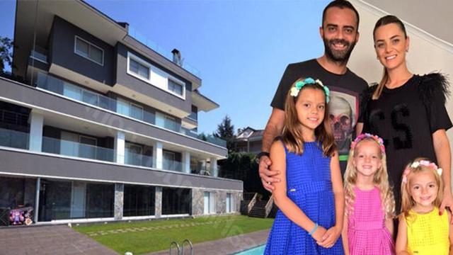 Semih Şentürk'ün villasına bakan çok, alan yok!