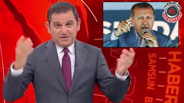 Fatih Portakal Cumhurbaşkanı Erdoğan'ın taklidini yaptı!