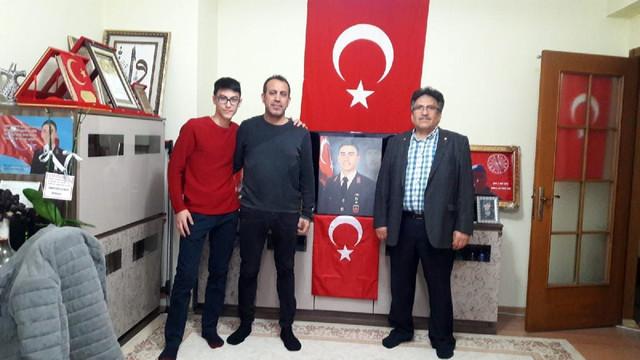 Haluk Levent'ten Afrin şehidinin ailesine ziyaret