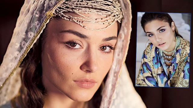 Hande Erçel'in ilk sinema filmi heyecanı