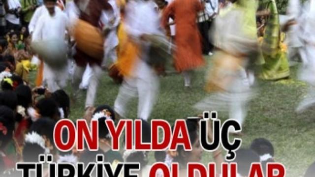 Hintliler 10 yılda 3 Türkiye oldu!..