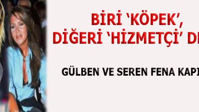 Seren Serengil ile Gülben Ergen Twitter da kapıştı!...