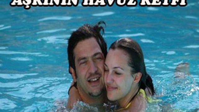 Hürrem Sultan ile aşkının havuz keyfi...