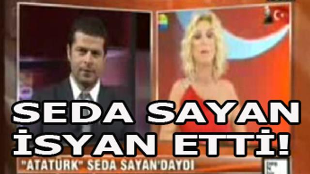 Seda Sayan: 'Atatürk'ün önünde dansöz oynatmadık'