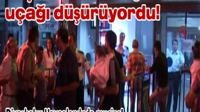 DİYARBAKIR HAVAALANI'NDA MUCİZE!