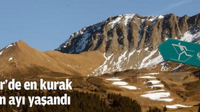 Alp Dağları'nda bir ilk yaşandı!..