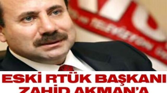 ZAHİD AKMAN'A HAPİS CEZASI!
