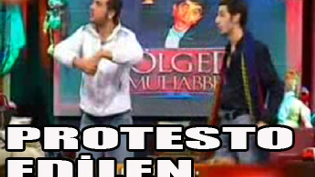 ''Fatmagül'ün suçu ne'' parodisine protesto