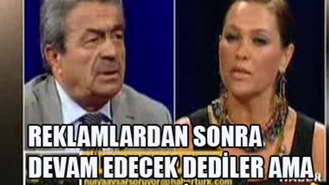 CANLI YAYIN ANİDEN KESİLDİ...
