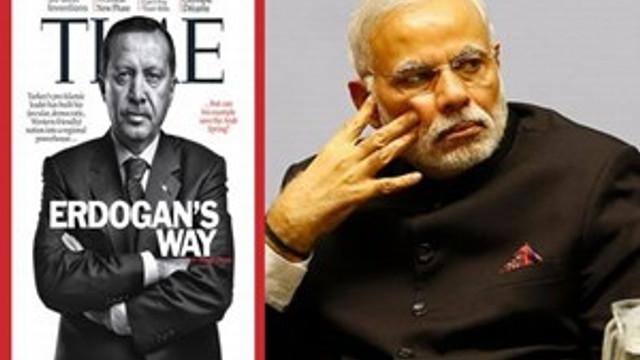 Hindistan Başbakanı birinci, Erdoğan kaçıncı?
