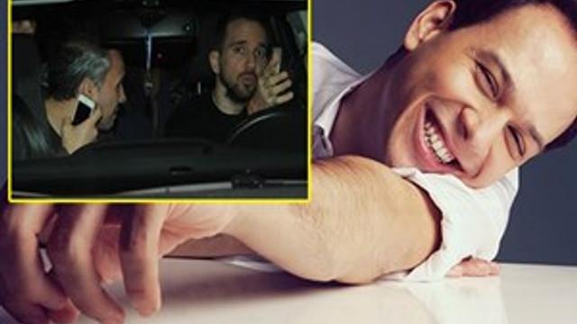 Sarhoş sürücü ceza yedi suçu muhabirlere attı!
