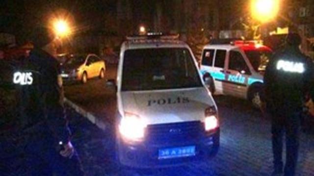 Polisle şüpheliler arasında kısa süreli çatışma!