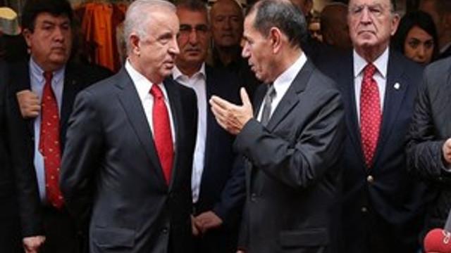 Başkanlar birbirine girdi!