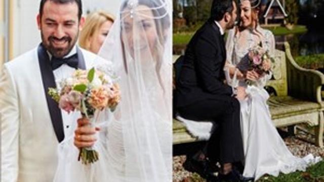 Burcu Kara'nın masalsı düğünü
