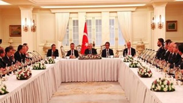 Merve Kavakçı da 'büyükelçi' toplantısına katıldı