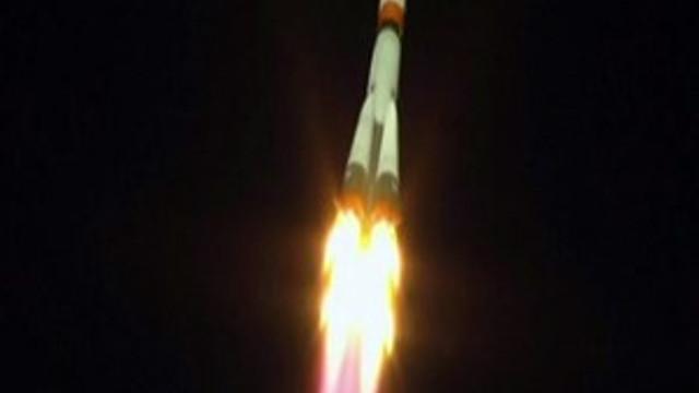 Uzay gemisinin fırlatılışı sırasında kaza!