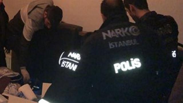 Narkotik operasyonunda polisi şoke eden raylı sistem!