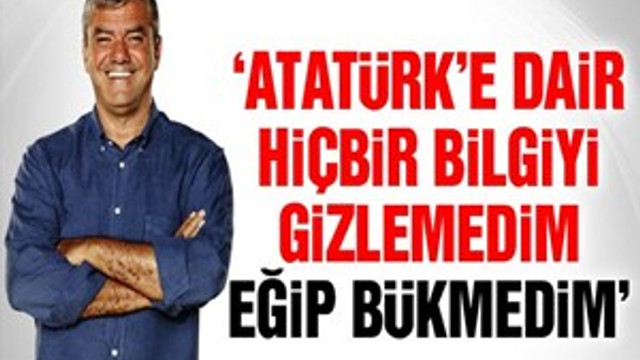 Yılmaz Özdil yeni kitabı 'Mustafa Kemal'i anlattı