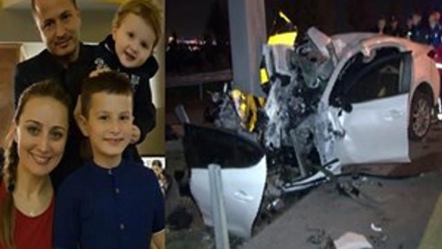 Ankara'da bir aile kazada yok oldu!