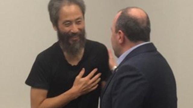 Teröristlerden kurtarılan Japon gazeteciden Bakan Varank'a teşekkür