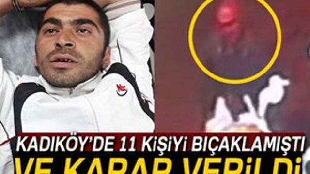 Kadıköy'de dehşet saçan cezaevi firarisi tutuklandı