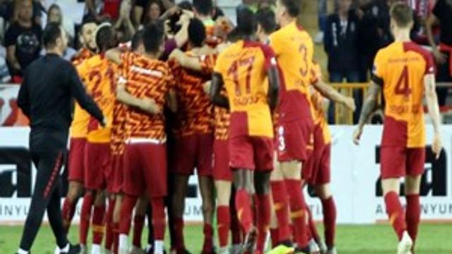 Galatasaray, deplasmanda 2 maç sonra galip
