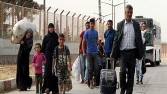 27 bin Suriyeli Türkiye'ye geri döndü