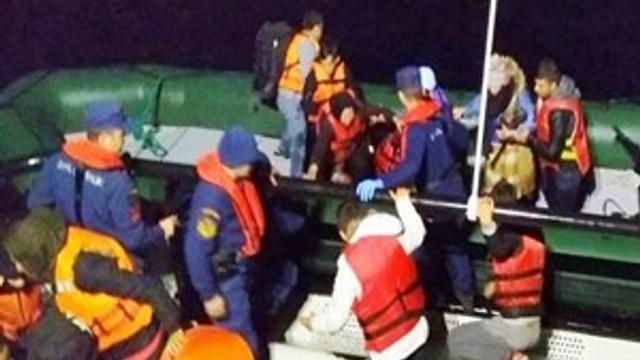 Çanakkale'de 29 mülteci yakalandı!