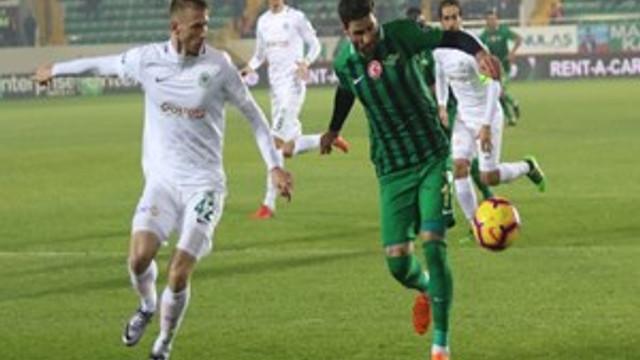 Akhisarspor: 0 - Atiker Konyaspor: 0