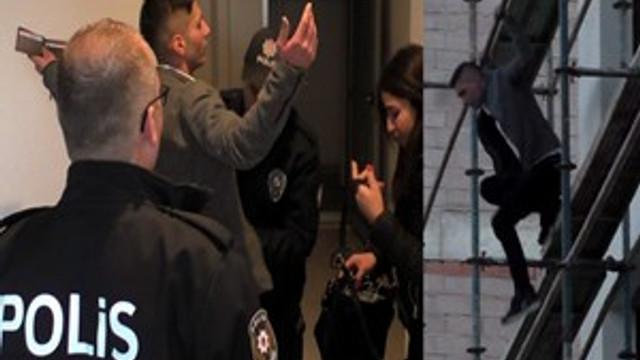 Alkollü şahıs, polis ve itfaiye ekiplerine zor anlar yaşattı