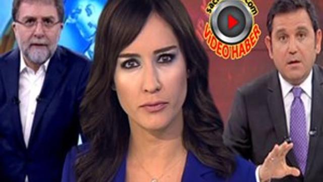 Üç ana haber sunucusundan Taksiciler Odası Başkanı'na tepki!