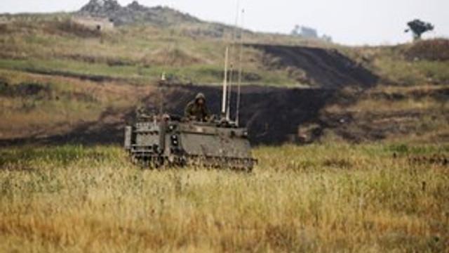 İsrail ordusundan Golan tepelerinde alarm