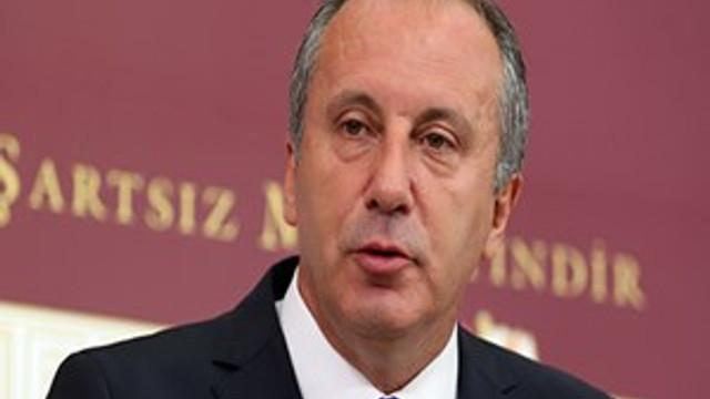 """Muharrem İnce: """"Bir daha Kılıçdaroğlu'na karşı aday olmam!"""""""