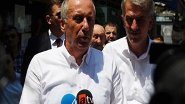 """Muharrem İnce: """"CHP'de değişim rüzgarları esiyor"""""""